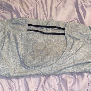 VS workout top! Super cute detail in back!